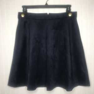 Karl Lagerfeld Faux Suede Skirt Size 10